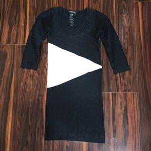 Black & White bebe Dress